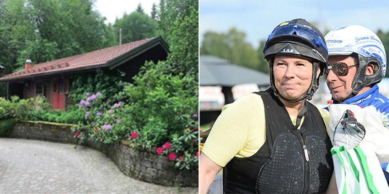 Susanne Richter vill att Jorma ska besöka stall Björnberget i Grängesberg för att se hur Bandido Gar känns i hemmiljön.