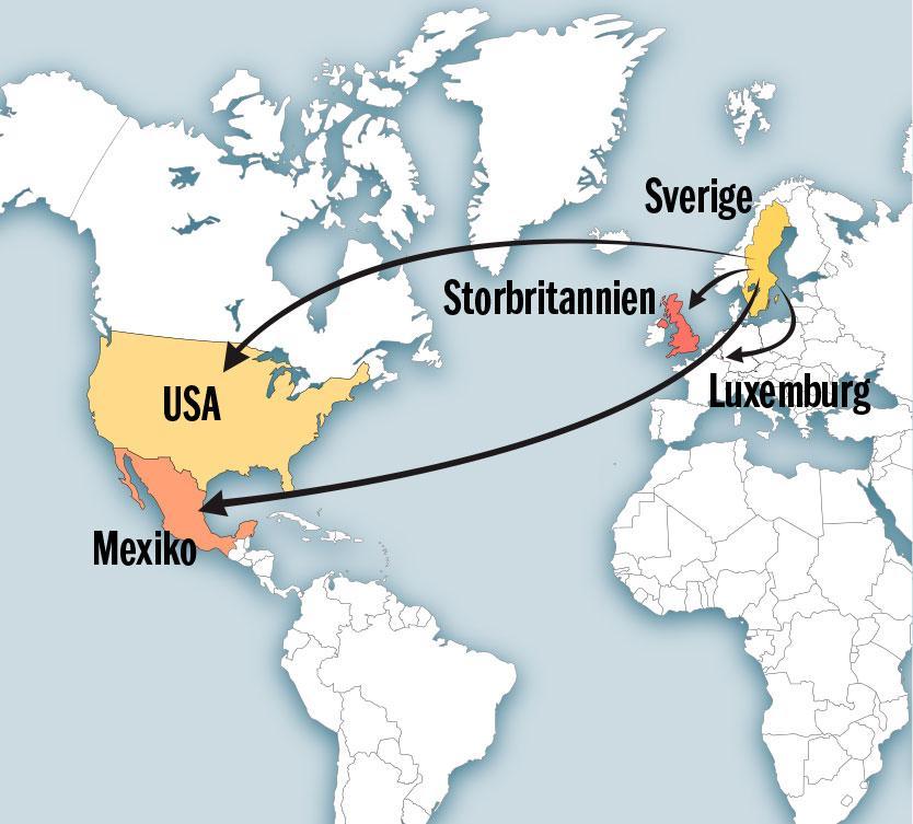 Ägarstrukturen bakom Internationella engelska skolan har förgreningar till Luxemburg, Mexiko, Storbritannien och USA.