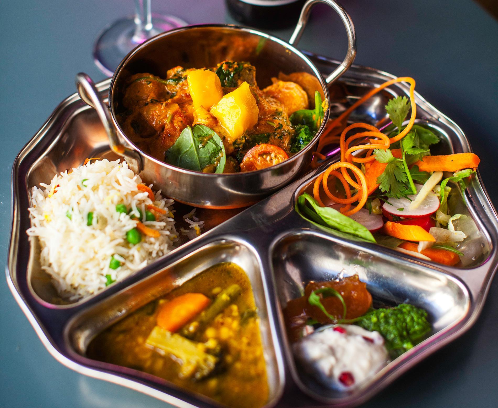 Indisk och bengalisk mat.