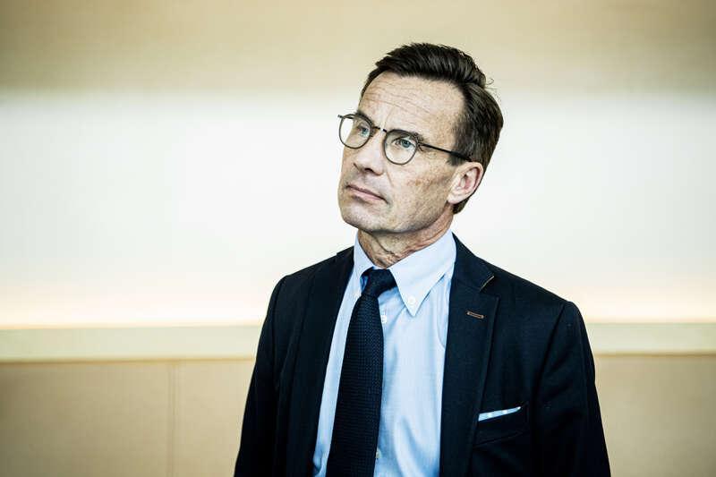 Ulf Kristersson. Arkivbild.