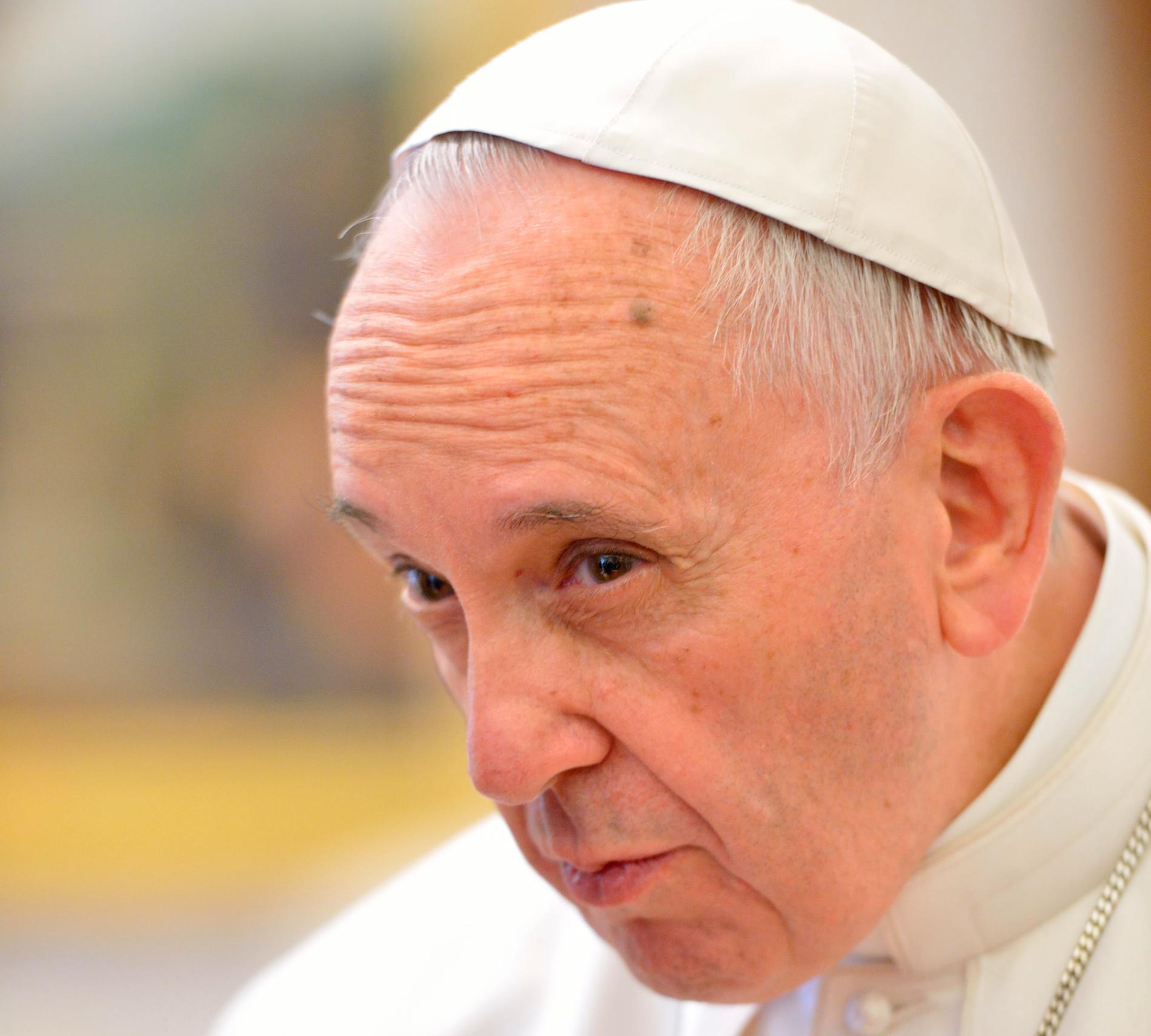 Påve Franciskus.