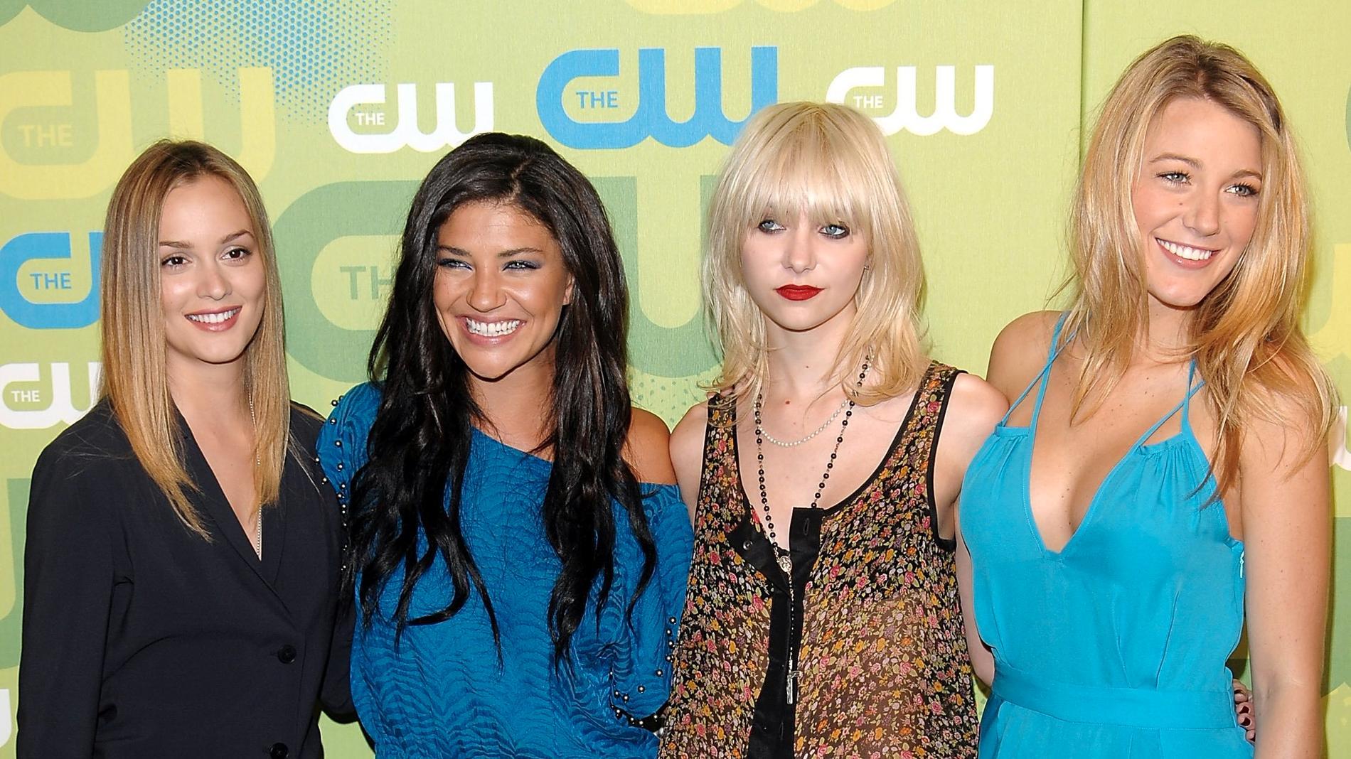 """Leighton Meester, Jessica Szohr, Taylor Momsen och Blake Lively får vara med om de vill när """"Gossip girl"""" återvänder. Arkivbild."""