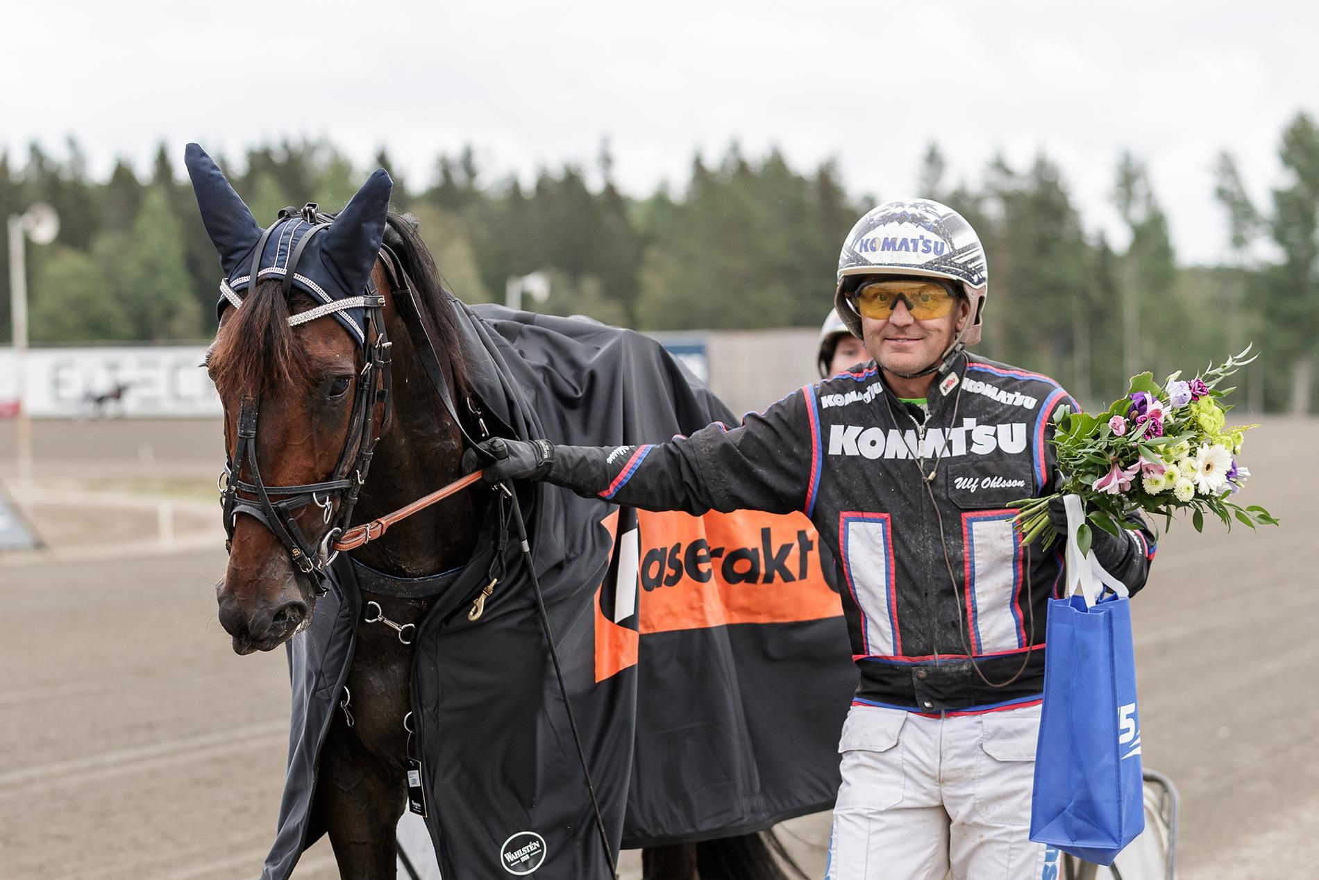 Titan Yoda och segerkusken Ulf Ohlsson.