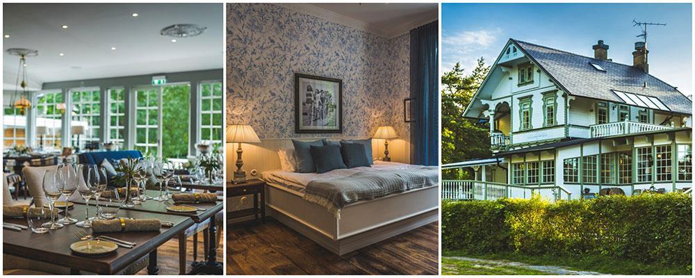 Villa Strandvägen i Ystad är Sveriges mest romantiska hotell.