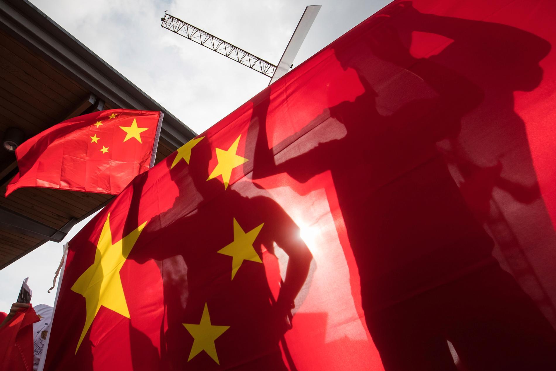 Kristdemokraterna utreder koppling till kinesisk organisation. Arkivbild.