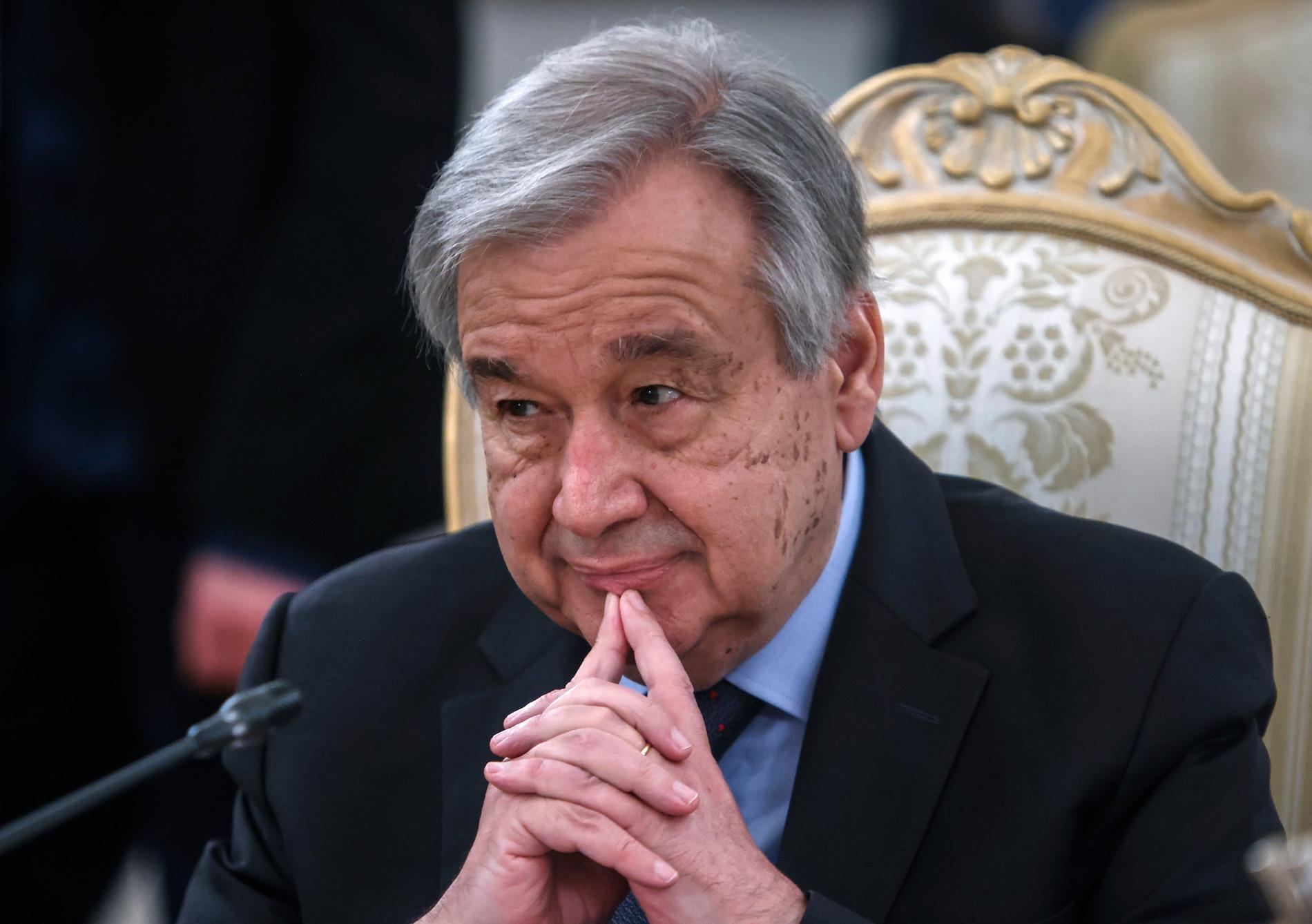 Antonio Guterres.