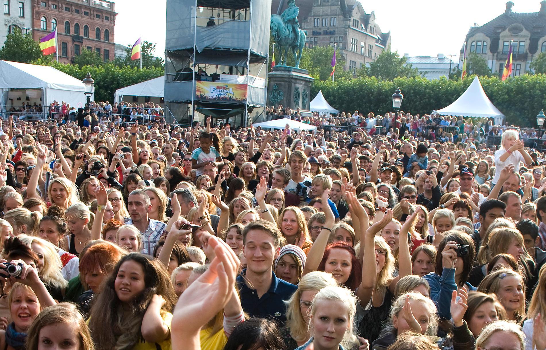 Fler ögon på Malmöfestivalen i år.