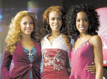 SATSAR PÅ SOLOKARRIÄRER Under sin spelning i Barcelona avslöjade bandet plötsligt att den här turnén blir Destiny s Childs sista.