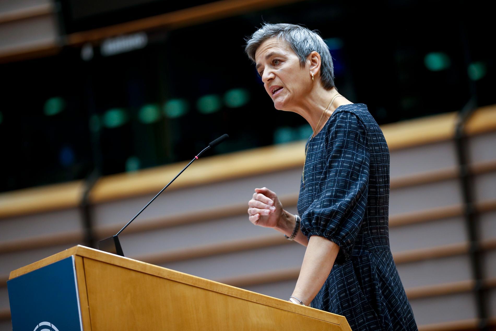 EU:s konkurrenskommissionär Margrethe Vestager drar igång en formell granskning av hur Facebook hanterar annonsuppgifter. Arkivfoto.