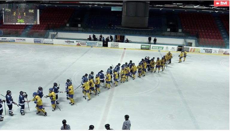 Finland vände och vann till slut med 2–1.