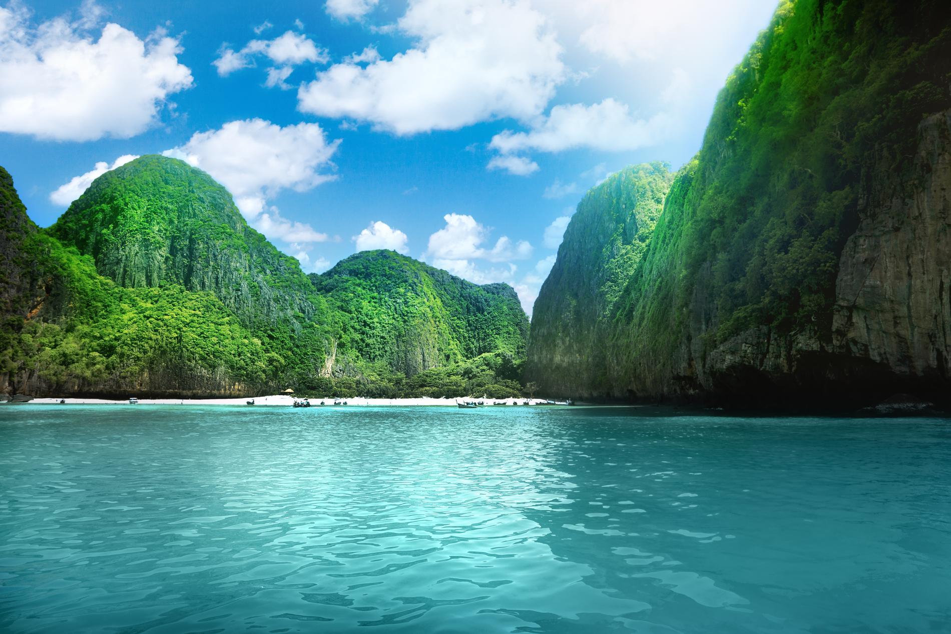 Maya Bay är stängd för turister, men det finns flera vackra stränder i Thailand.