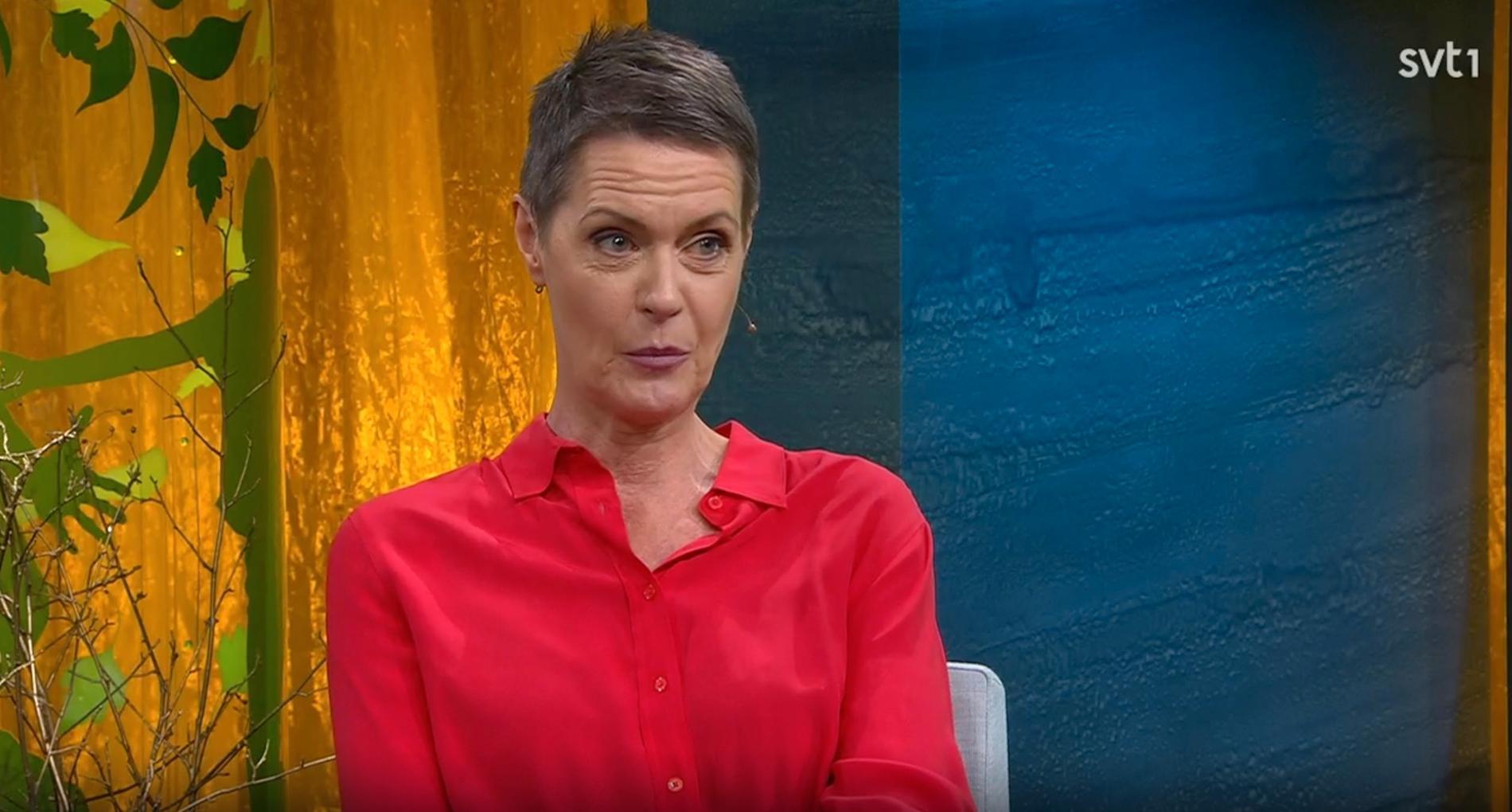 "Inger Ljung Olsson i ""Fråga doktorn""."