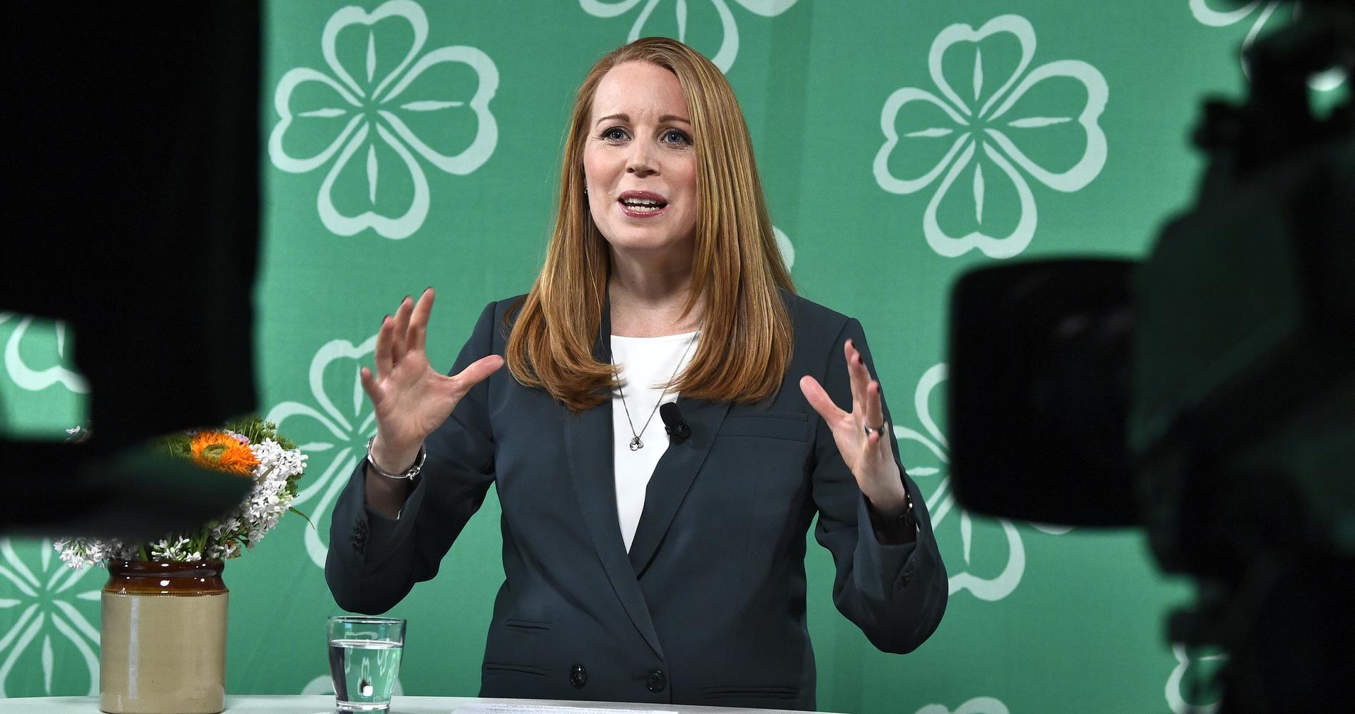 Annie Lööf har fått 130 000 nya väljare den senaste månaden.