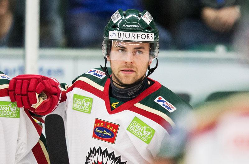 Fredrik Eriksson i Frölunda-tröjan.