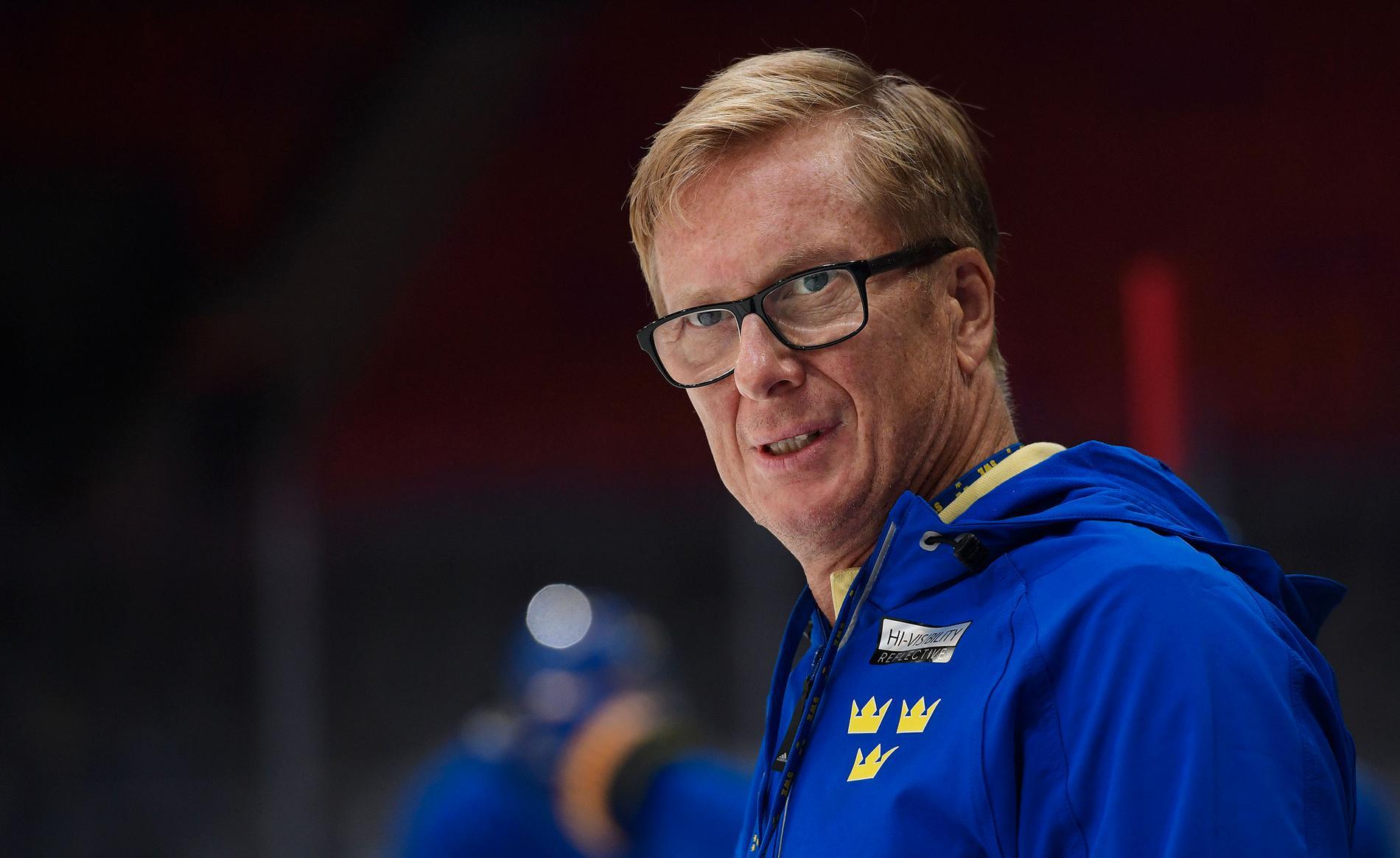 Svenska ishockeyförbundets generalsekreterare Tommy Boustedt.