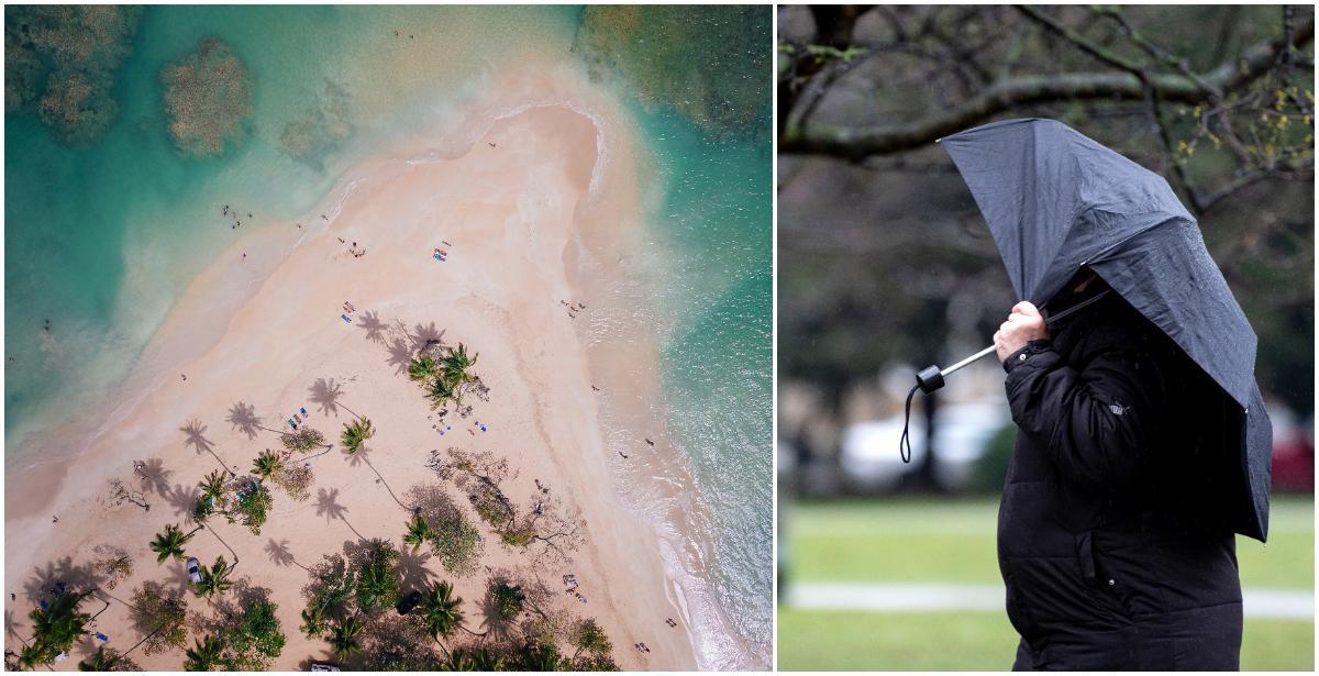 Regn i Sverige, eller sol i Dominikanska republiken?
