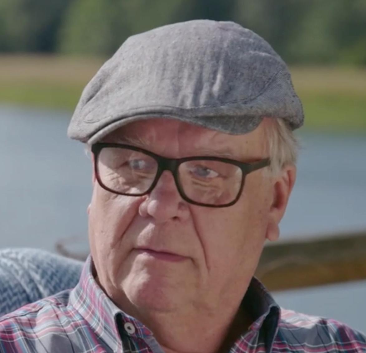 """Lasse Berghagen berättar om sina mardrömmar om """"Allsång på Skansen""""."""