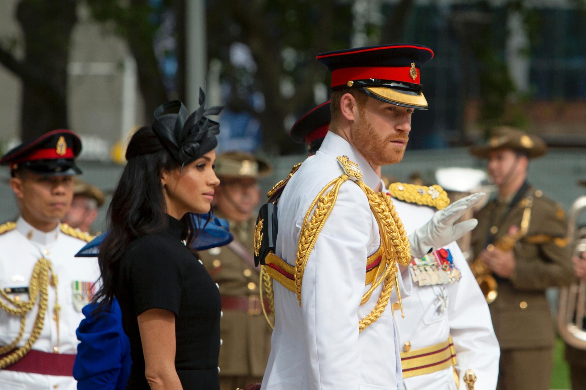Prins Harry och Meghan Markle ger sig in i underhållningsbranschen tillsammans. (Arkivbild)