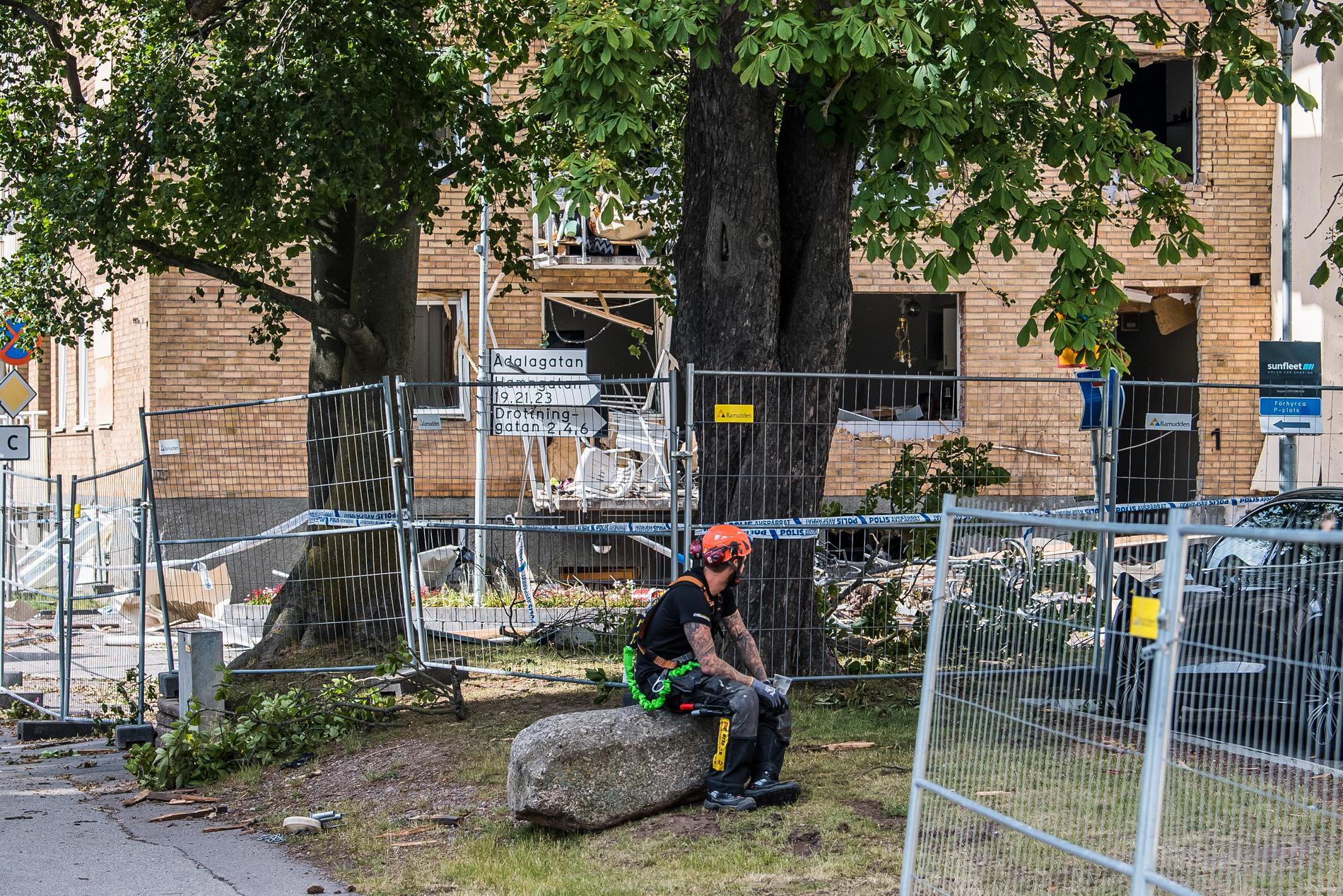 Förödelsen i Linköping