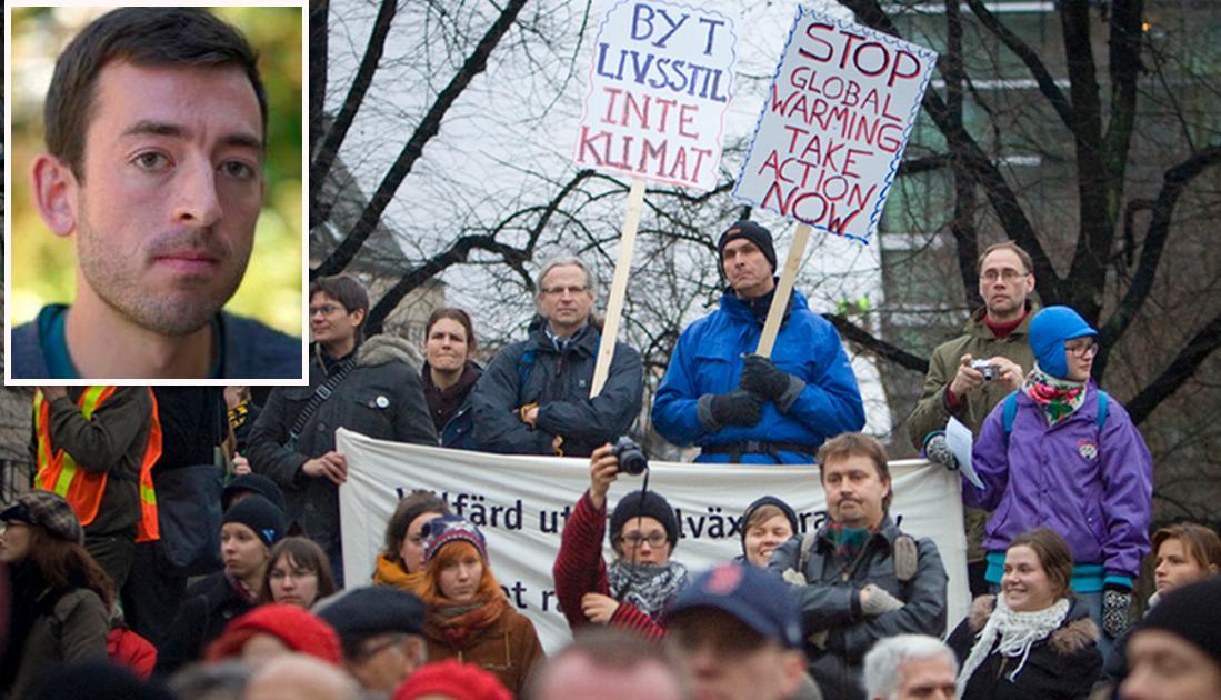 Vi har bevis för att protester faktiskt fungerar. Det syns ett samband mellan ökade miljöprotester och nedgång i utsläpp i USA och vi kan se att aktivism från lokala icke-statliga organisationer minskar föroreningar från närliggande kraftverk. Men att politiskt engagemang sker också i valbåset. Studier från hela världen visar att att välja klimatvänliga politiker minskar koldioxidutsläppen. Så oavsett om det gäller val på lokal, nationell eller EU-nivå – hitta kandidater som vill göra fossila bränslen dyrare och förnybar teknologi billigare, och rösta på dem, skriver debattören.