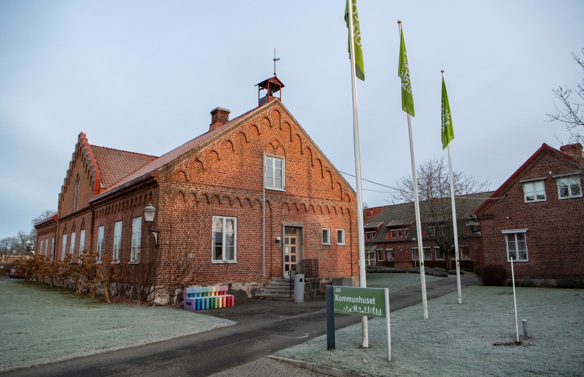 Kommunhuset i Broby - Östra Göinge kommun.