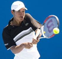 Daniel Berta imponerade i Australian Opens juniorturnering.