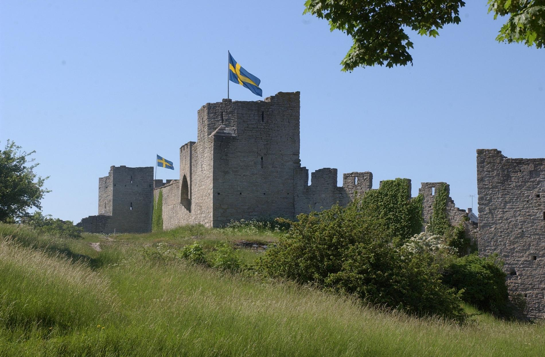 När forskare undersökt kryssningsturisters rörelsemönster på Gotland var ringmuren en av de populäraste platserna att besöka. Arkivbild.