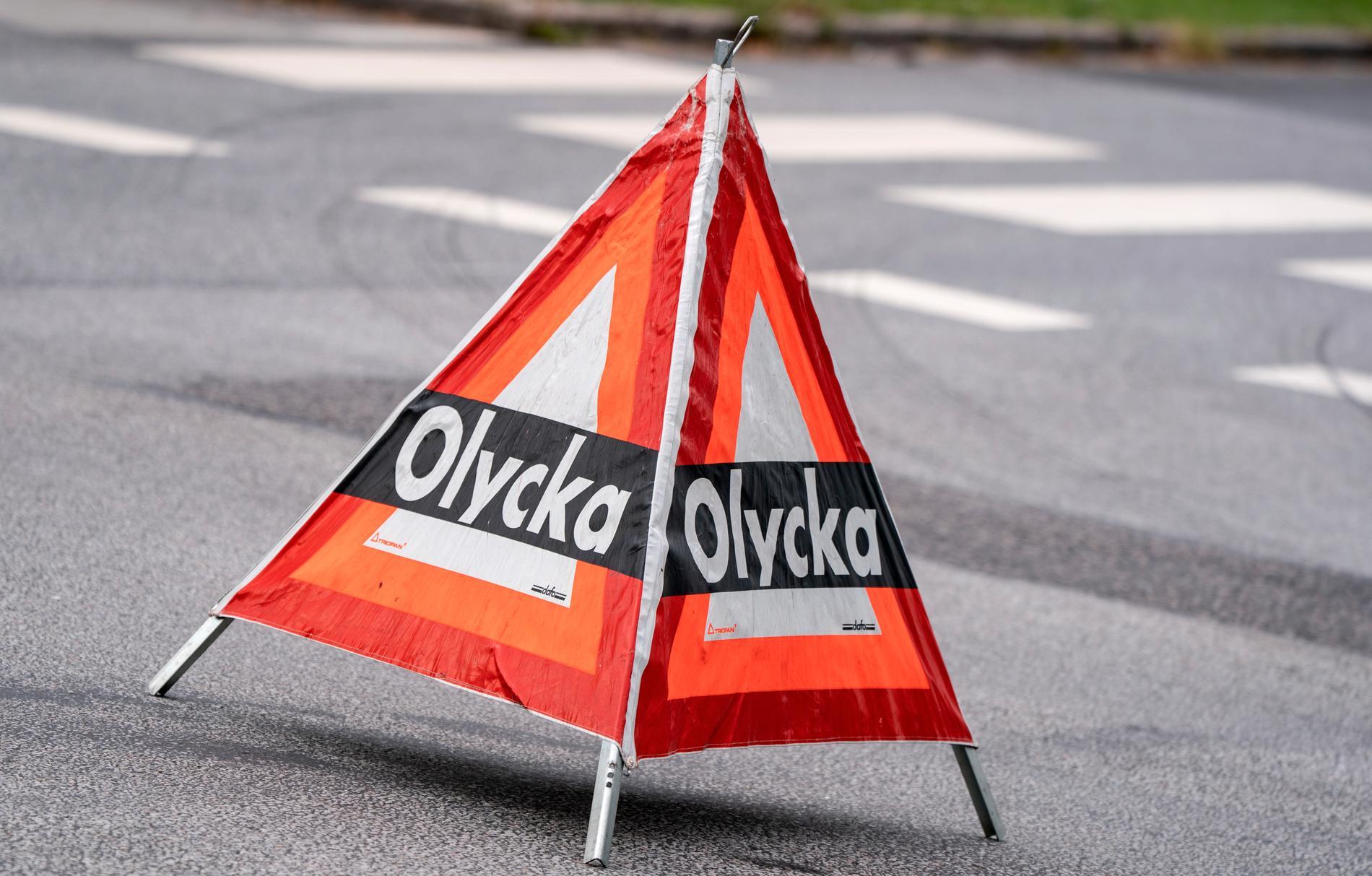 En motorcyklist har förts till sjukhus med ambulanshelikopter efter en olycka på södra Gotland. Arkivbild.