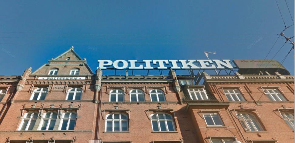 Politikens hus vid Rådhuspladsen i Köpenhamn.