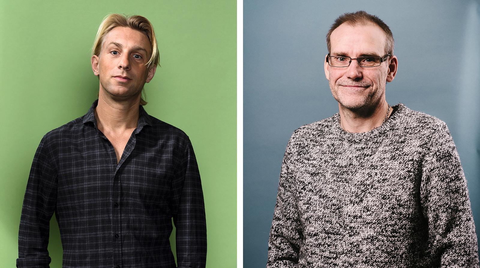 Ansders Hansen och Mats Wänblad.