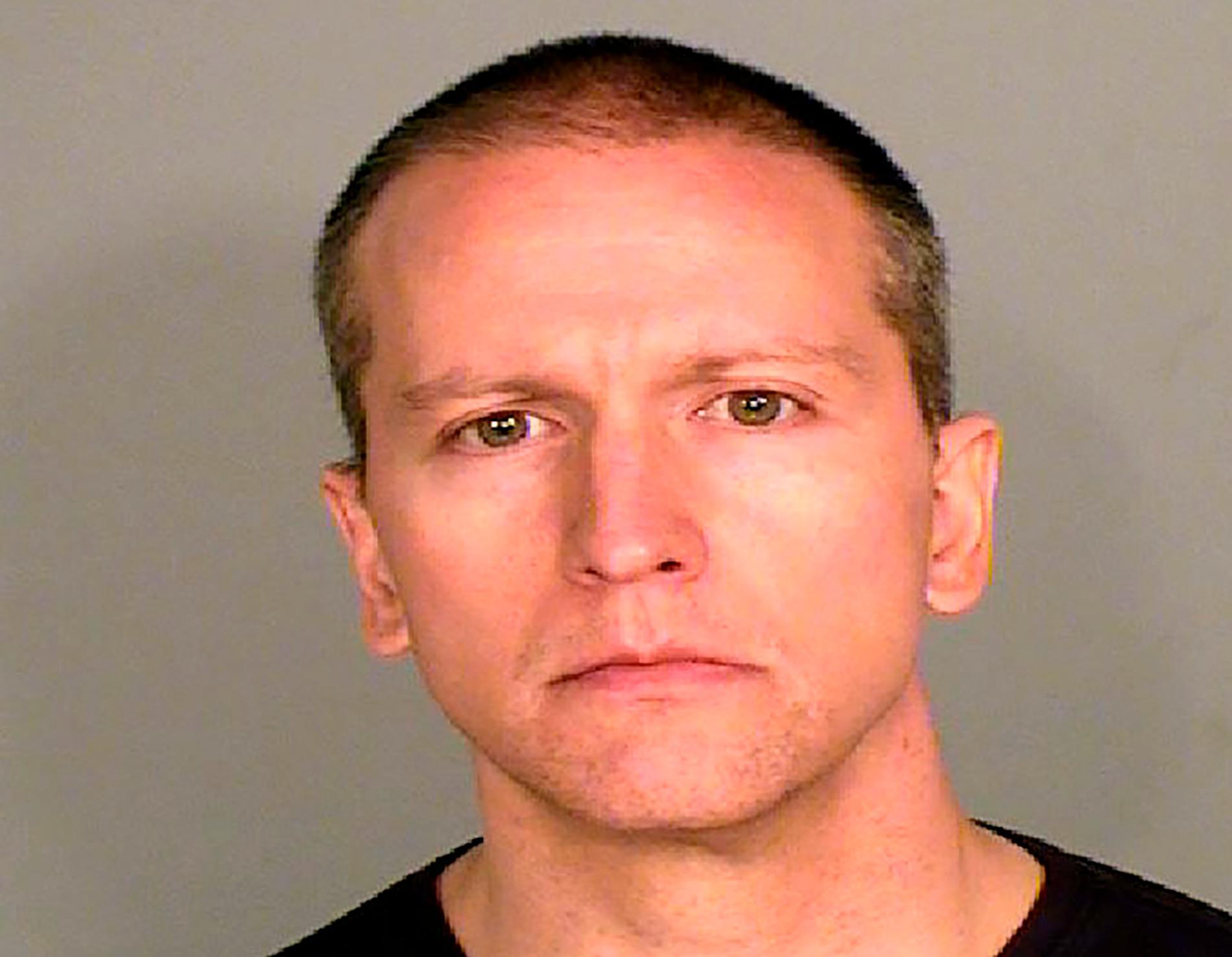 Derek Chauvin greps fredagen den 29 maj.