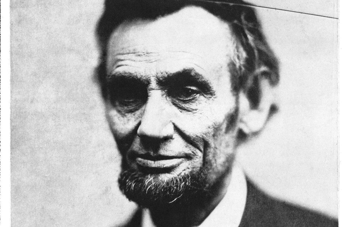 Abraham Lincoln sov tillsammans med Joshua Speed i fyra år och deras vänskap blev livslång.