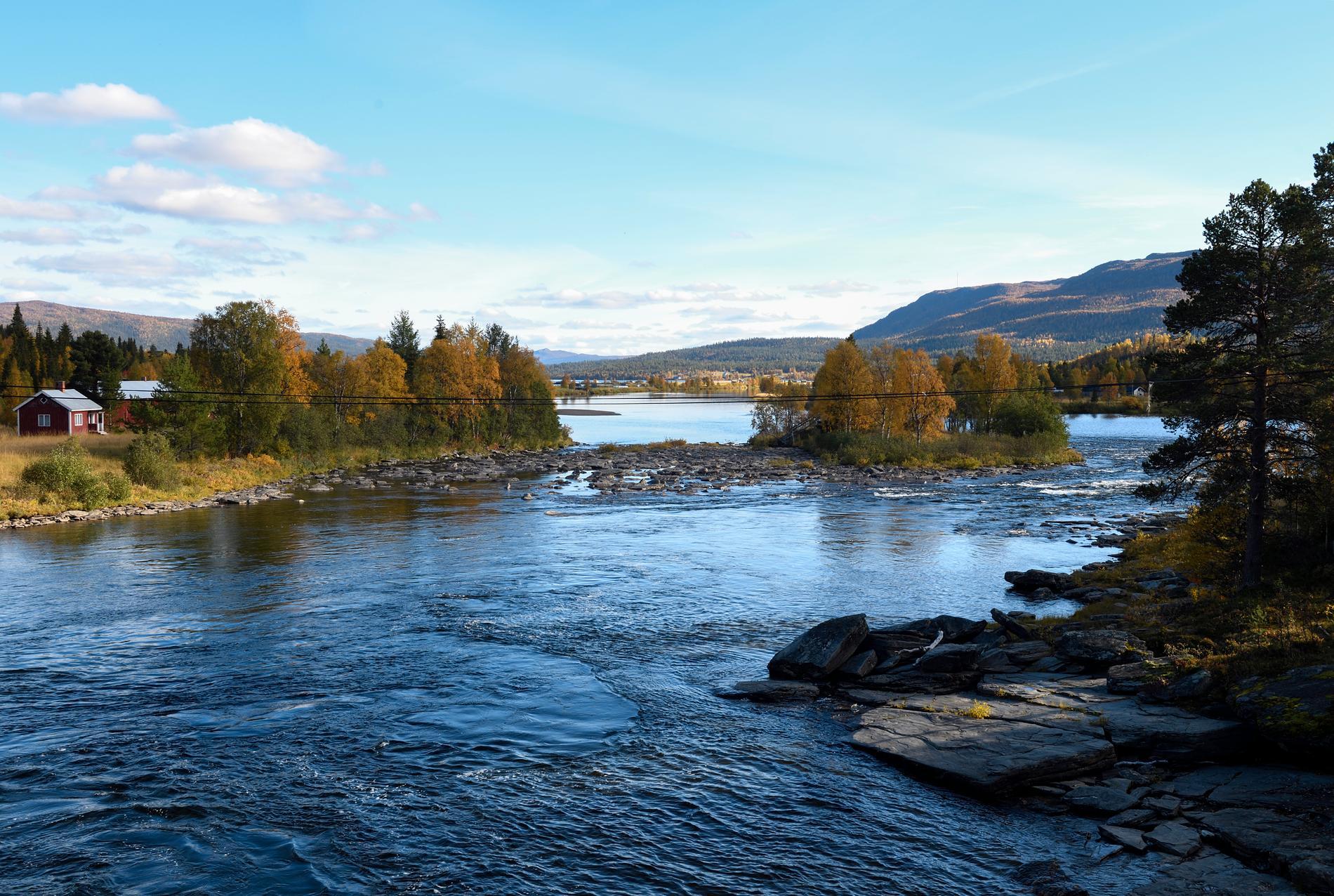 140 kilometer norrländska vattendrag kommer att återställas i det nya vattenvårdsprojektet. Arkivbild.