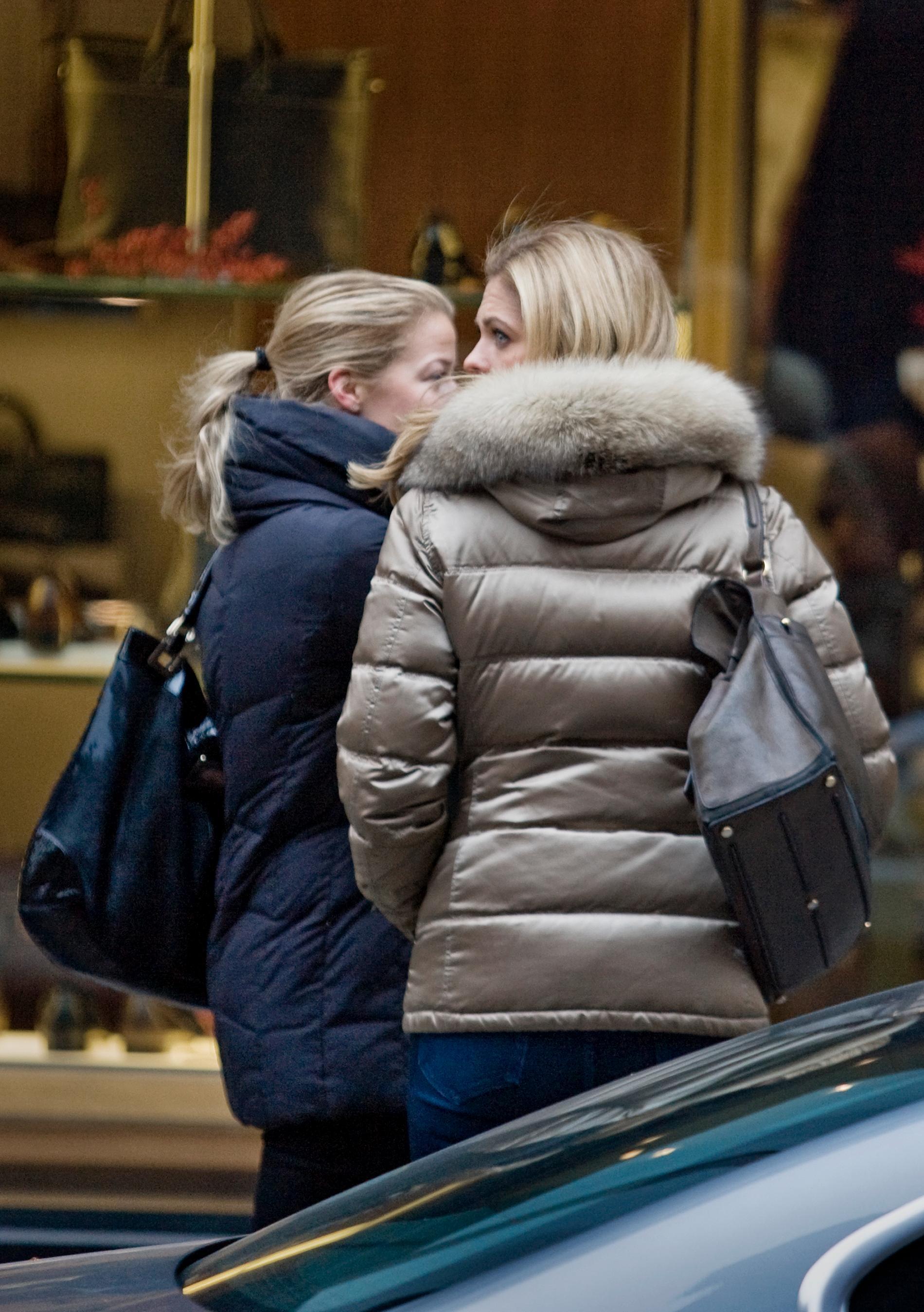 Prinsessan Madeleine i New York, december 2010.
