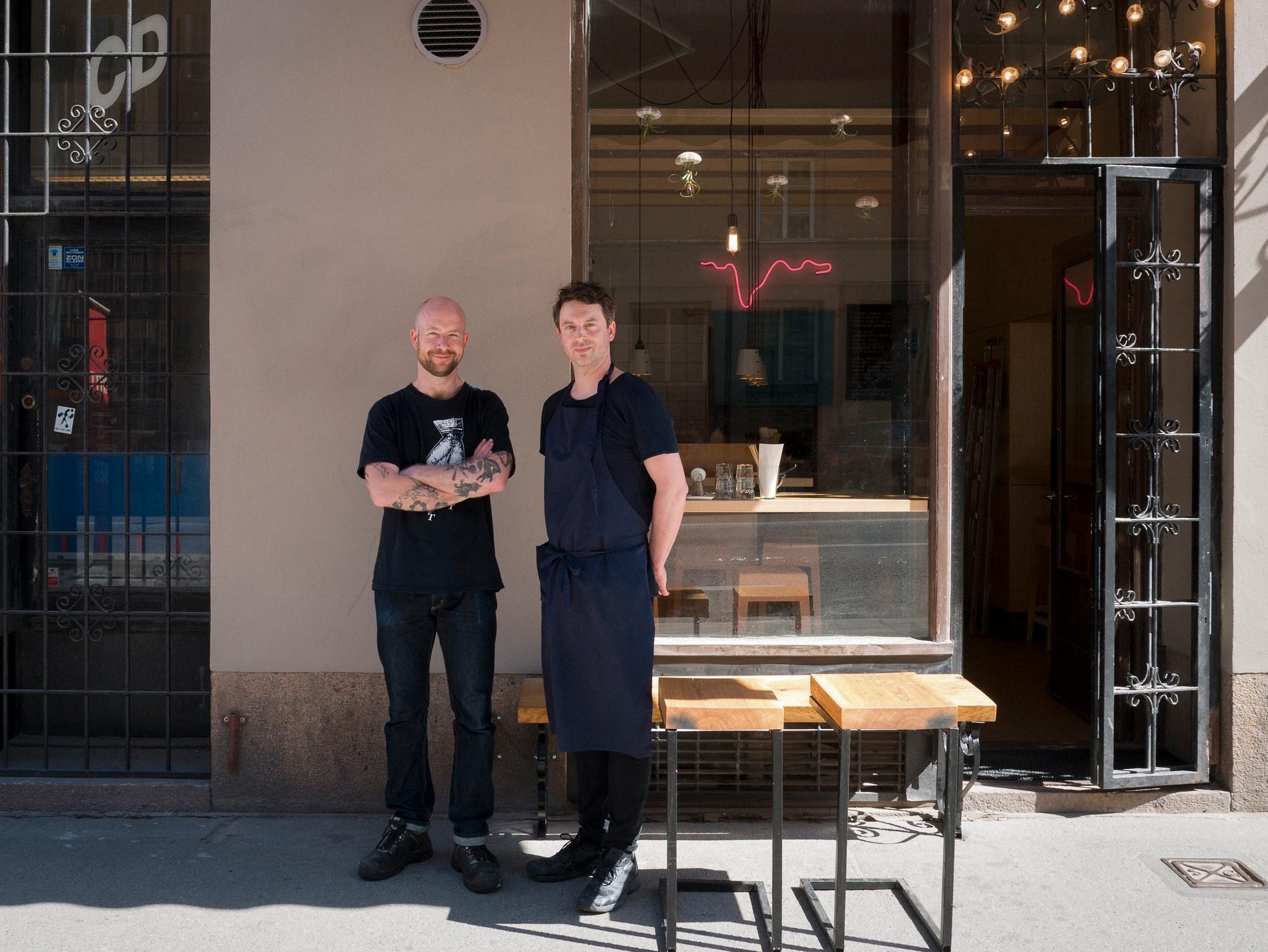 Peter Eneroth och Jonas Lindgren.