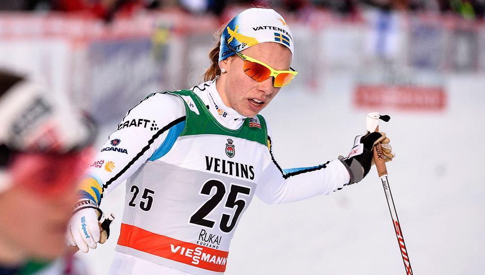 Lina Korsgren har tävlat i världscupen  för Sverige