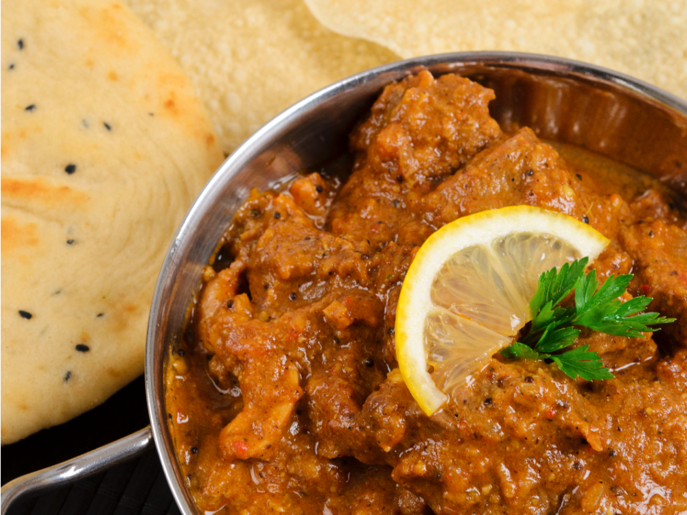 Indisk madras curry