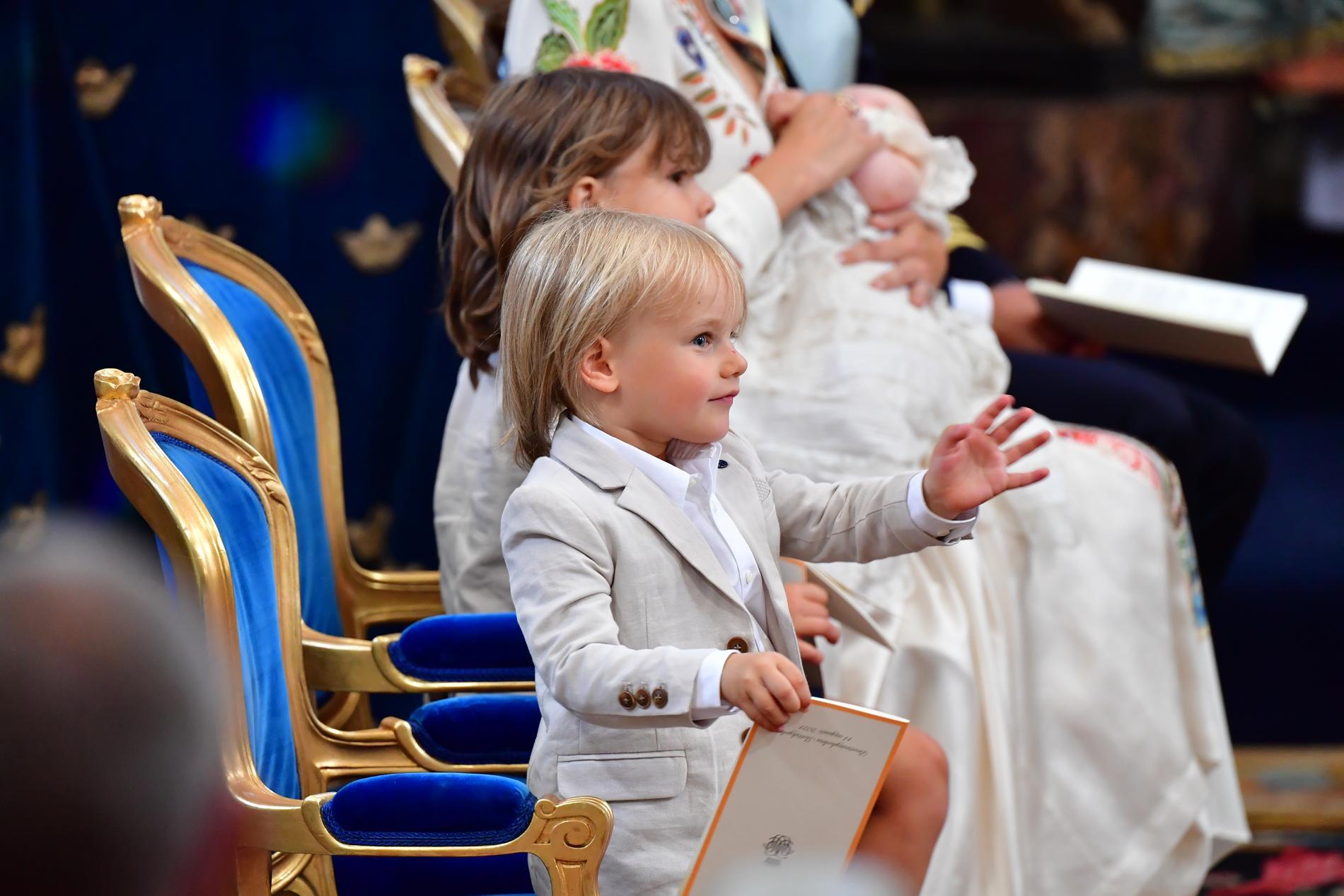 Prins Gabriel och prins Alexander