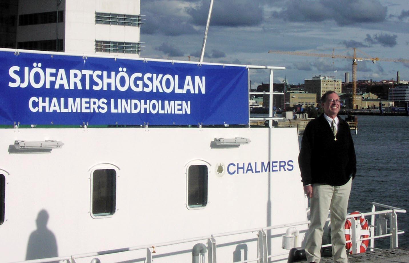Olle Rutgersson, Estoniaexpert och professor i skeppsbyggnadsteknik.