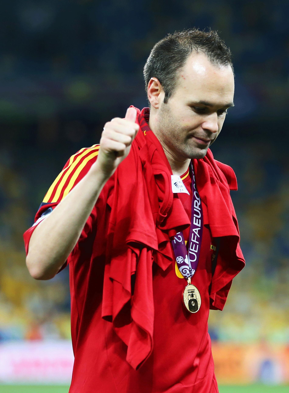 Iniesta, EM:s bäste spelare 2012.