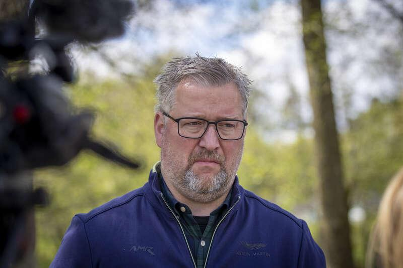 Hans Sjöberg, kommunpolis.