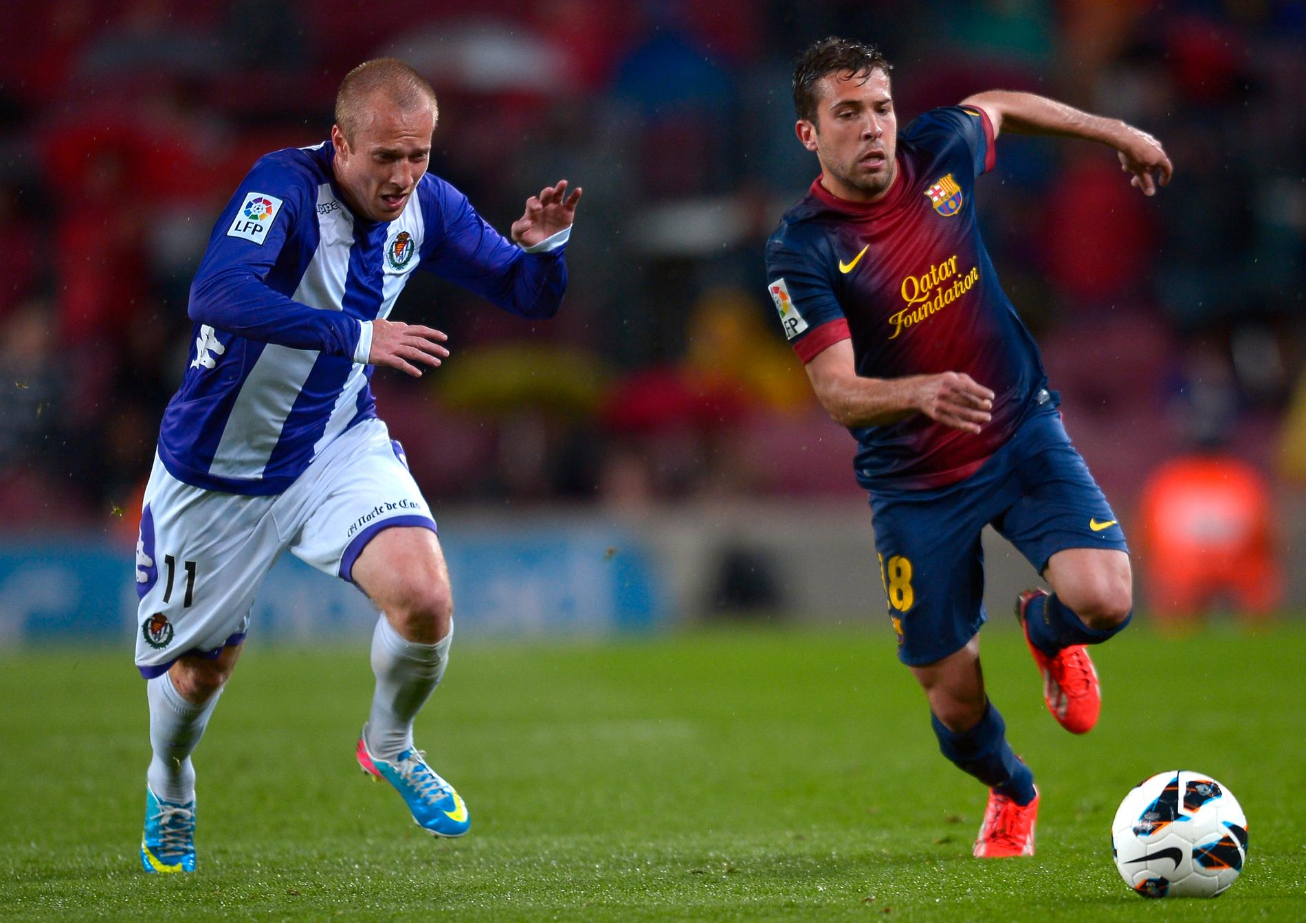 Larsson lämnar Spanien.