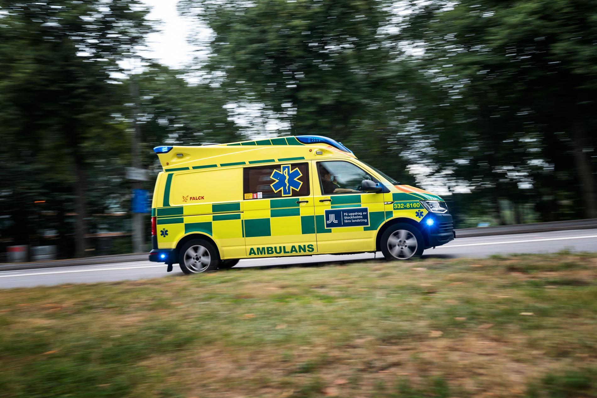 En man har hittats skadad i Bällsta utanför Stockholm. Arkivbild.