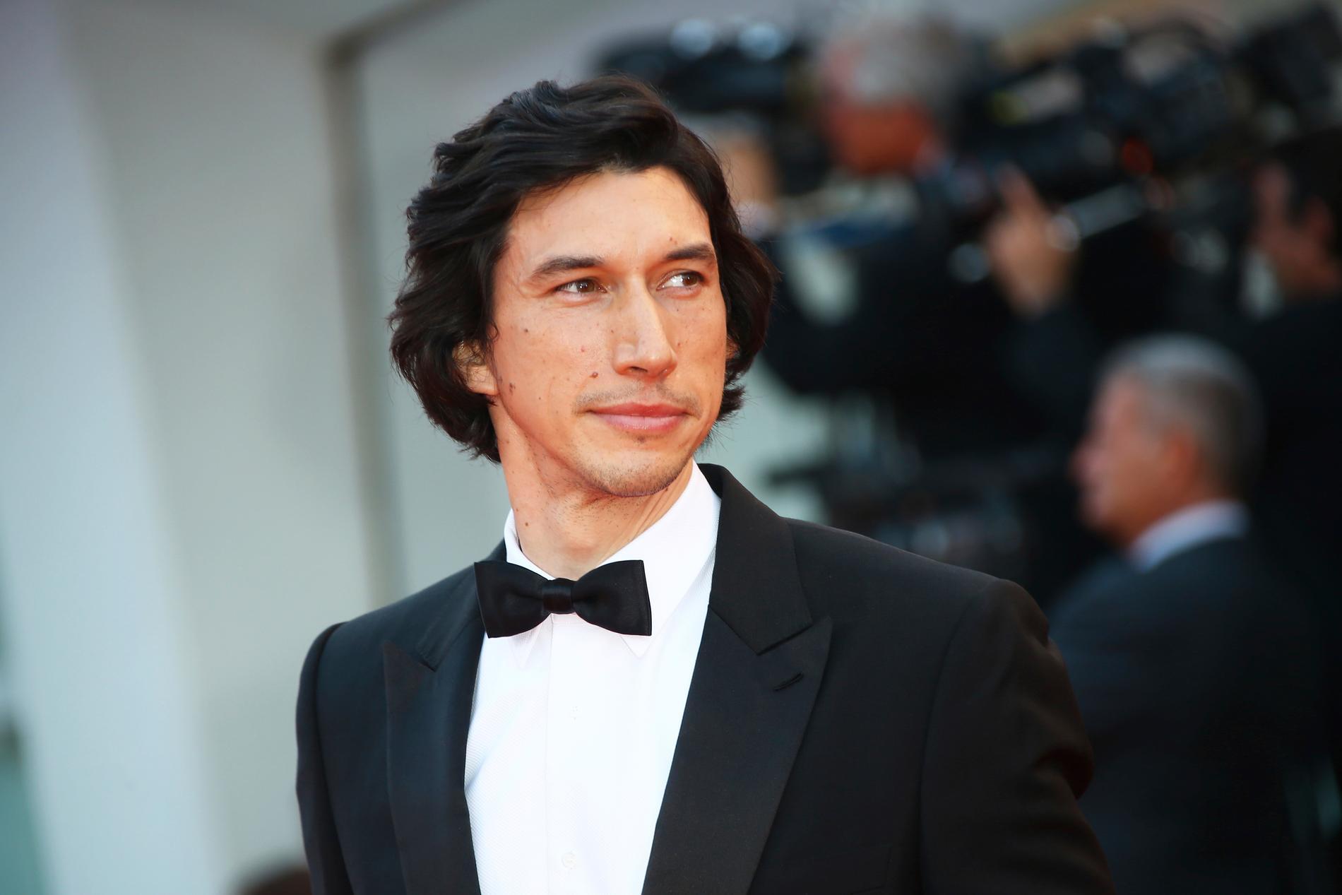 Adam Driver är en av skådisarna vars film visas på årets Cannesfestival.