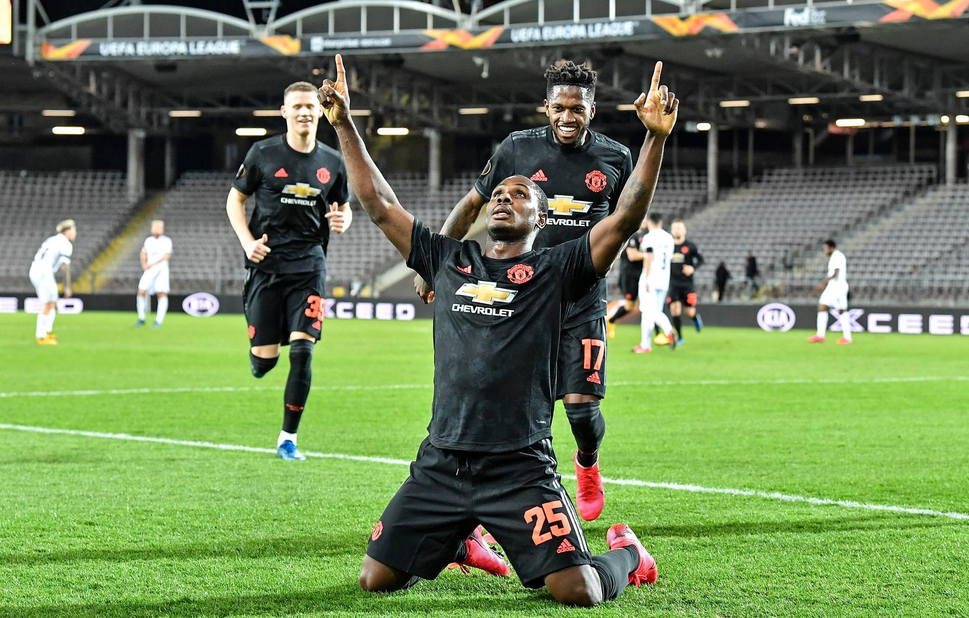 Odion Ighalo ser ut att bli kvar Manchester.