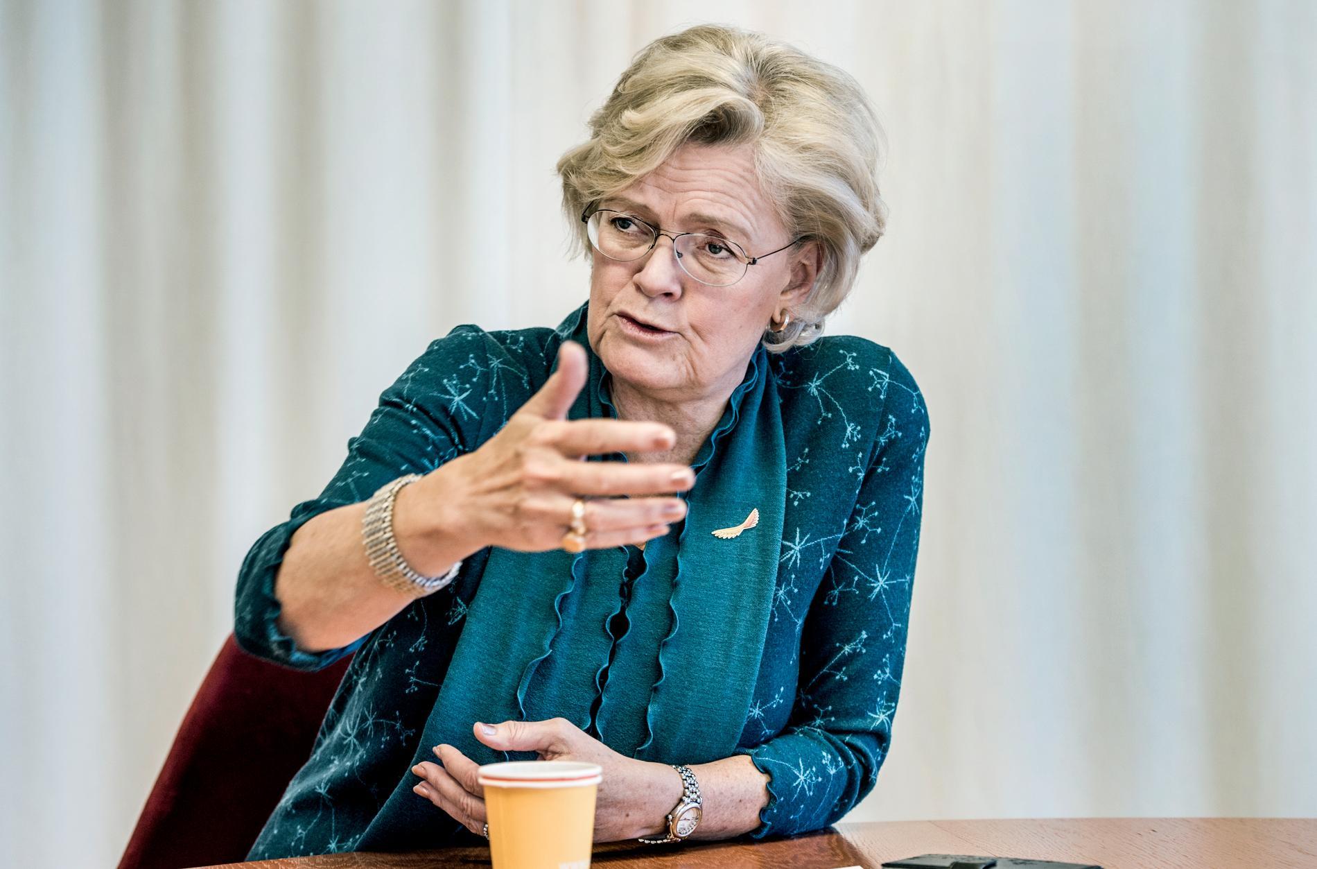 Svenskt Näringslivs Carola Lemne yrar om las