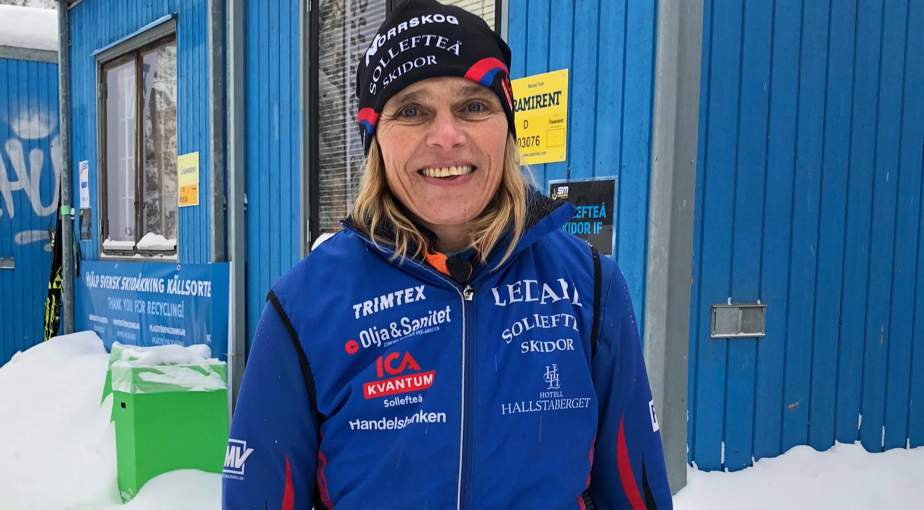 Mia Karlsson, mamma till Frida Karlsson.