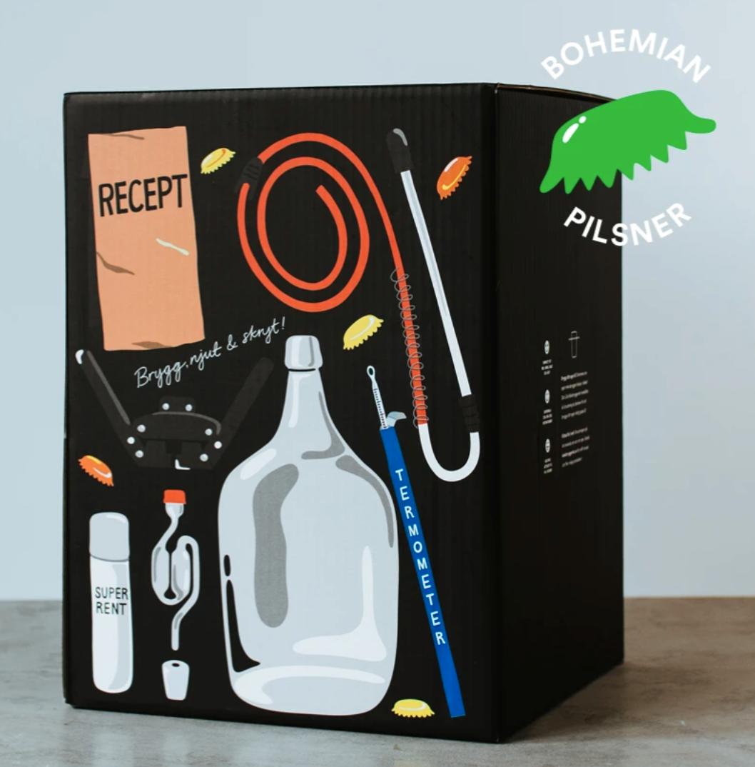 Kit för ölbryggning hemma
