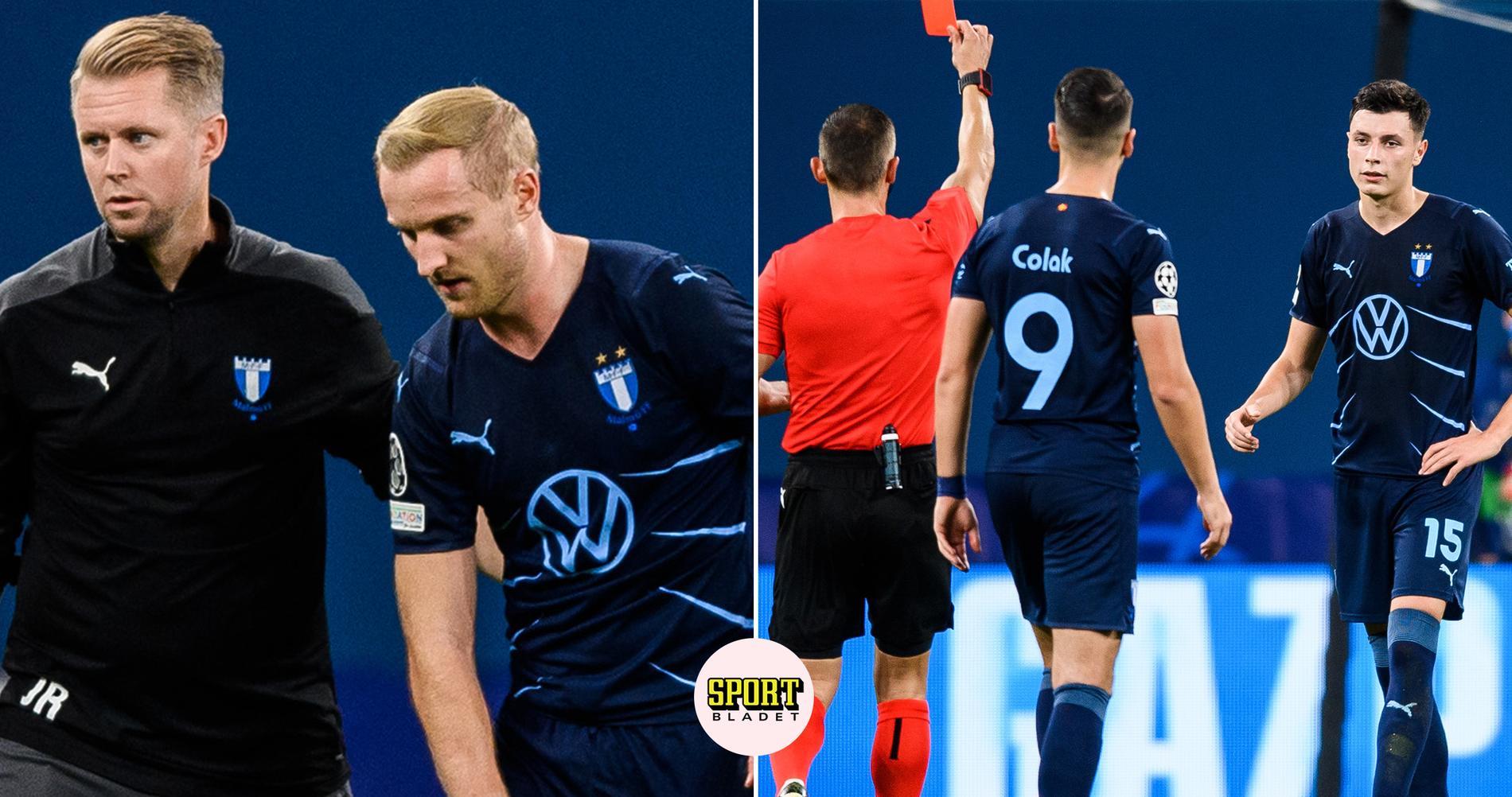 Malmö FF överkört i Champions League