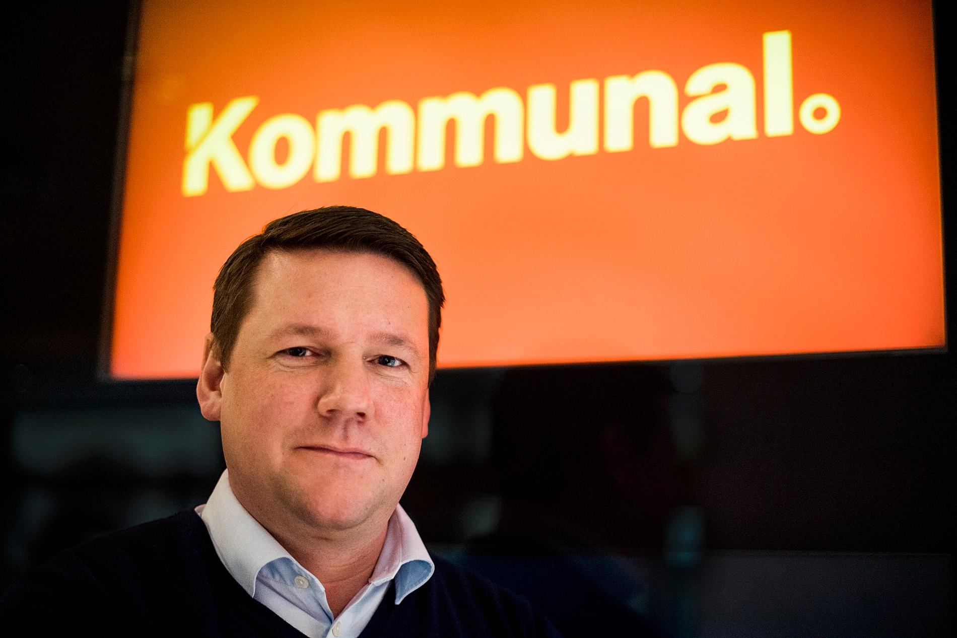 Tobias Baudin, ordförande för Kommunal.